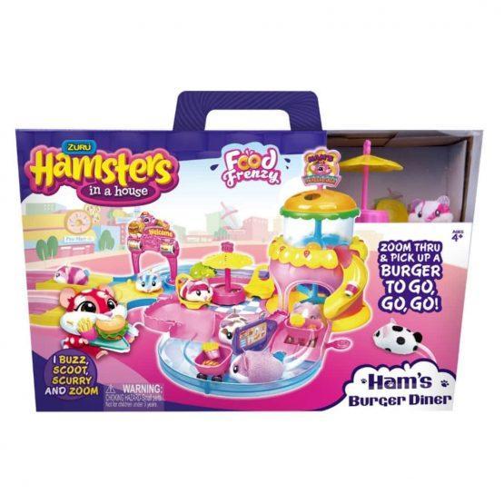 Hamster Hrček z igralno hiško